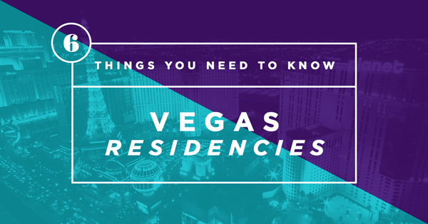 Vegas Residencies Header Image