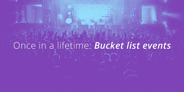 Bucket List Events