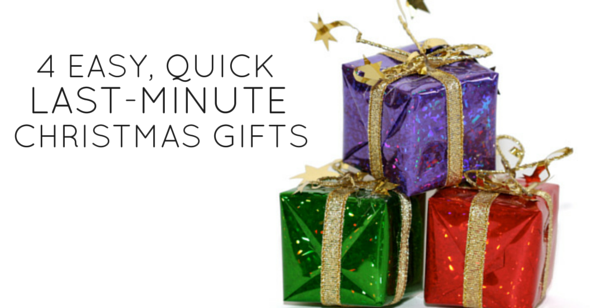4 Easy Quick Last-Minute Christmas Gifts image
