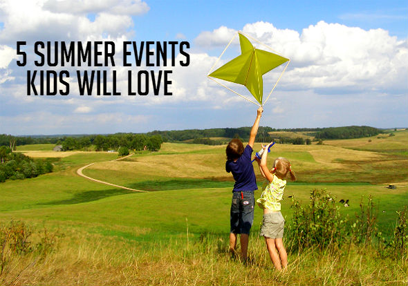 5 Summer Events Kids Will Love image