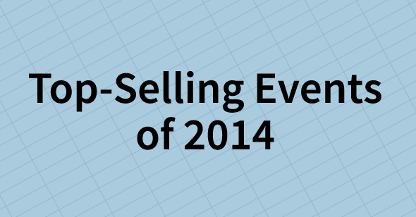 Top-Selling Events of 2014