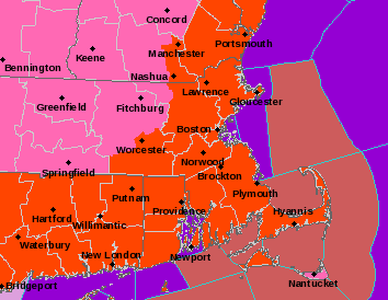 Blizzard warnings for Winter Storm Juno