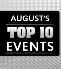 August's Top 10 Events