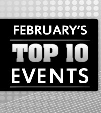 February's Top 10 Events
