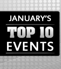 January's Top 10 Events