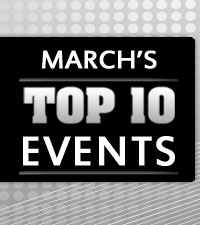 March's Top 10 Events