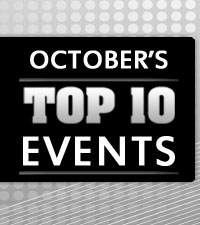 October's Top 10 Events