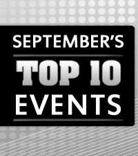 September's Top 10 Events