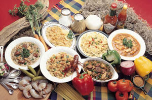 Common Creole dishes
