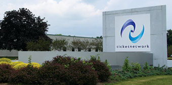 TicketNetwork Sign